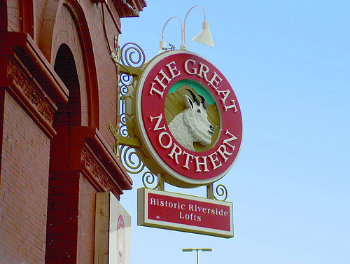 Great Northern Lofts Sign