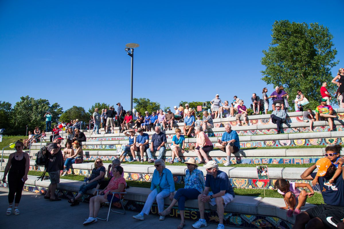 Richfield Lake Amphitheater Opening 1